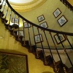 wonderful hotel staircase