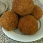 Our famous freshly made scotch eggs