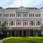 Raffles Hotel - just next door to the Carlton!