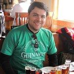 Flight of 10 Blue Mountain's Beers.