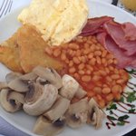 Breakfast - an excellent array of options to chose from, cooked to perfection!