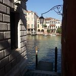 View of the Canal Grande from my window.
