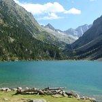 El lago en todo su esplendor