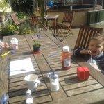 happy customers@ the secret garden chard