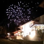 Ernie Blake birthday fireworks.