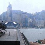 parziale della vista dall'hotel