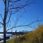 Vue spectaculaire sur les 2 ponts de Québec