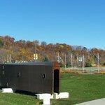 Art Contemporain, Pierre Bourget, Promenade Samuel-de-Champlain