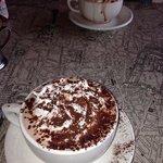their yummy hot chocolate