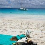 Anse Georgette beach