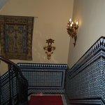 L'interno dell'albergo