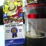 Award winning Coffee sample from Buddhas Cup!