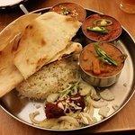 Lamb thali