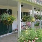 Front porch florals