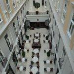 Magnifique galerie de l'hôtel
