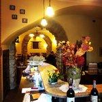 L'inconfondibile stile rustico del Tocco di Vino