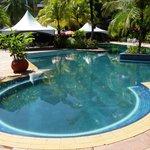 Pool at hotel tiara