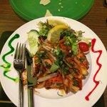 Chicken kebab - delish
