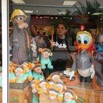 Vidriera Disney Store