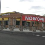 McDonald's now Open in Center Point Shopping Center
