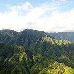 Kauai vu d'en haut