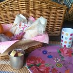 Picnic Hamper - Yurt Holiday Portugal