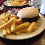 venison burger.....