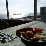 6 floor. Breakfast:)