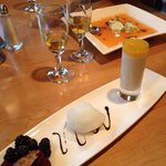 Dessert at the restaurant