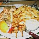 chicken slouvaki-- SO DELICIOUS!