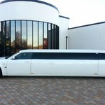 The hotel limo
