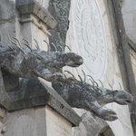 Iguana gargoyles
