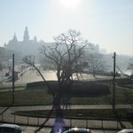 View to Wawel Castle and river