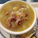 Cabbage & ham soup