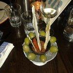 Iced olives - lush