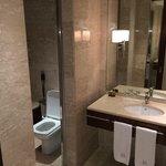 la salle de bain super équipée !