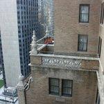 vue sur une terrasse