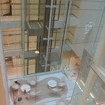 Vista do Elevador Panorâmico do The Mirror.