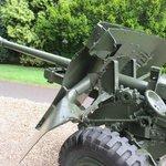 British field gun outside Airborne Museum Oosterbeek