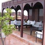 Dachterrasse Riad Nasreen