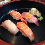 Sushi in the mittagesmenu