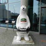 Berliner Bär vor dem Hotel