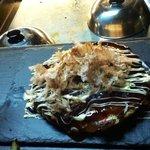 Voila un bel Okonomiyaki !