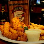 Fish Fry at Vikkage Tavern & Grill Restaurant in Carol Stream
