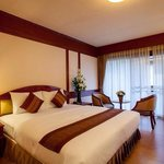 Deluxe Room with Balcony and Garden view