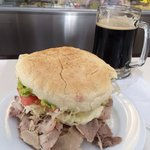 BIG freshly made sandwiches and superb selection of beers and drinks