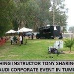 TUMUT FLY FISHING INSTRUCTOR TONY WITH AUDI CORPORATE GROUP