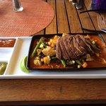 Veggie tacos delicious!