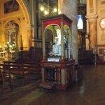 Santiago de Chile. Iglesia Basílica de La Merced. Virgen de La Merced.