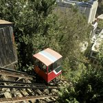 Nearby historic ascensor (funicular railway)